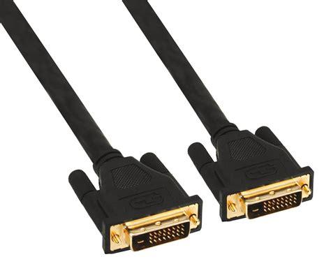 Kabel Dvi Dvi D Kabel 24 1 Pin Stecker Stecker