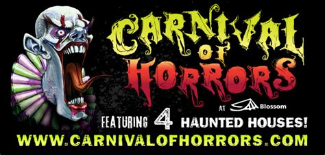 blossom music center haunted house haunted house in cuyahoga falls ohio carnival of horrors