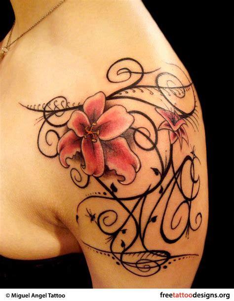 girly tattoo designs for shoulder best 20 feminine shoulder tattoos ideas on