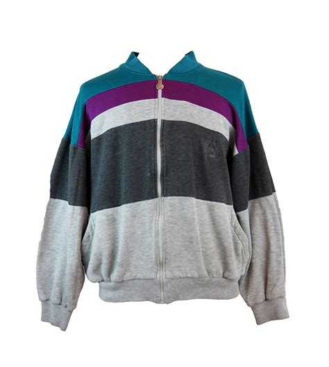 Polo Adidas 1315 christian zip up sweater 5 vintage