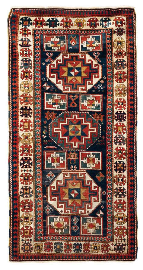 tappeto caucasico tappeto caucasico kazak xix secolo tappeti antichi