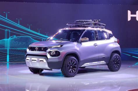 tata hx based hbx micro suv concept debuts  auto expo