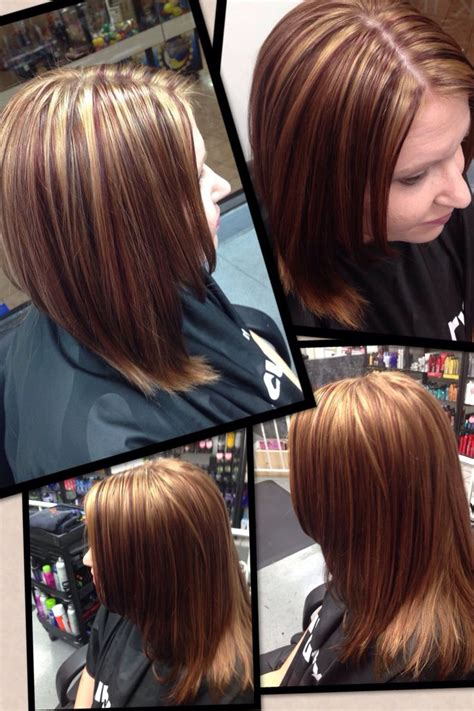 hairstyles hair cuttery lowlights for fall 2013 copper brown and red violet hair