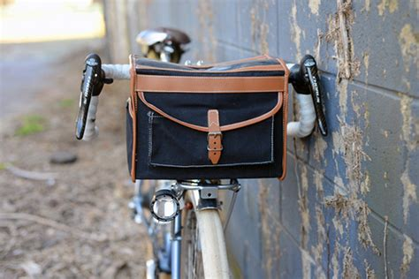 Modified Bicycle Rack by Lovely Bicycle Modified Vo Handlebar Bag Setup