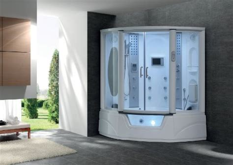 bathtub steam shower combo enjoy steam shower and the bathtub all at the same time