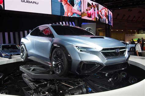 subaru forester concept subaru viziv concept signals the future of the impreza