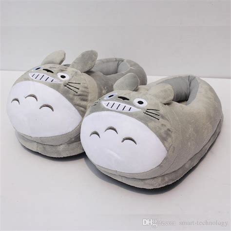 totoro slippers best quality my totoro plush shoes soft winter