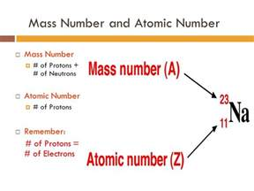 Proton Mass Number The Modern Periodic Table Organization Ppt