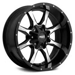 Truck Wheels Moto Metal Moto Metal 174 Mo970 Wheels Gloss Black With Machined Rims