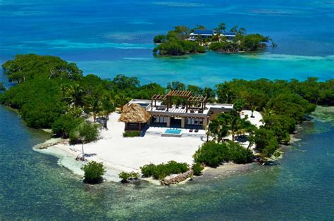 Belize Private Island Rental | gladden private island belize central america private
