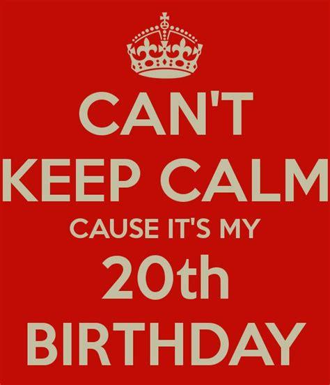 20th Birthday Quotes 20th Birthday Quotes Quotesgram