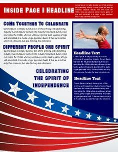political newsletter template 1000 imagens sobre newsletter templates no