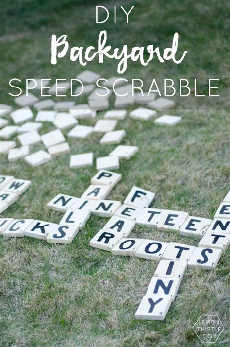 diy backyard scrabble 10 images about woodworking dice games on pinterest