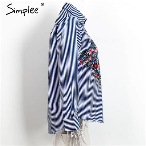 Blouse Fashion Import Jy776081 fashion floral embroidered blouse autumn sleeve