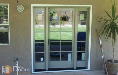 Hinged Patio Doors With Sidelights Patio Door With Sidelights Home Design Ideas And Pictures