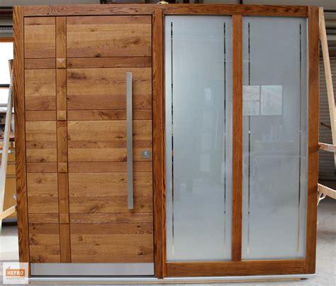 Haustueren Holz by Haust 252 Ren Holz Mit Seitenteil Harzite