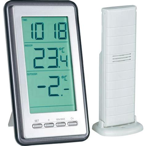thermometre cuisine pas cher thermom 232 tre radiopilot 233 ws 9160 it argent vente