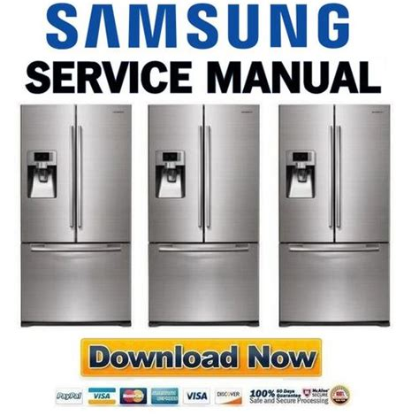 samsung rfg297aars service manual repair guide