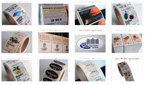 Aufkleber Drucken Wei Auf Transparent by Etiketten Etiketten Auf Rolle Im Digitaldruck