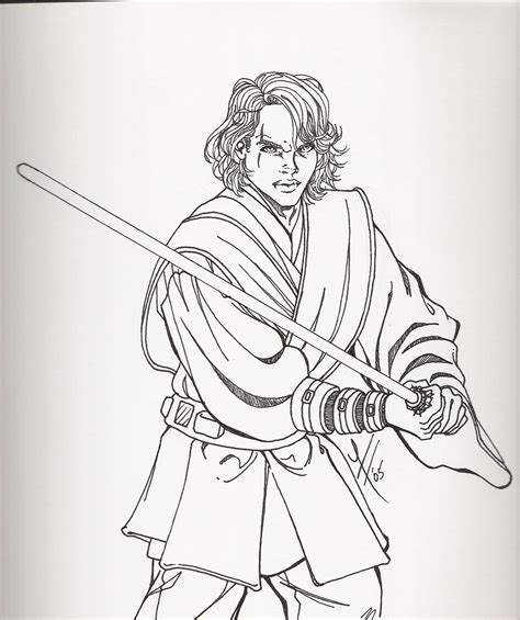 baby wars coloring pages anakin skywalker by roryalice on deviantart