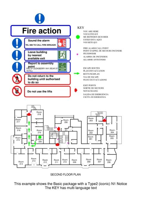 pics for gt hotel emergency exit plan evacuplan hotel emergency evacuation plans