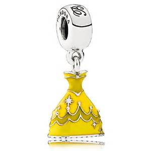 Disney Belle Dress Silver Dangle With » Ideas Home Design