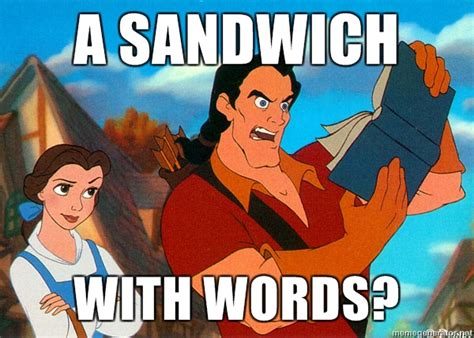 Disney Meme - disney memes images gaston and books wallpaper and