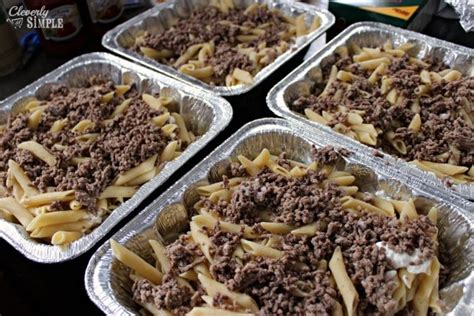 easy recipes with ground beef million dollar casserole