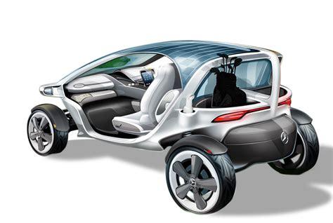 mercedes benz vision golf cart concept design sketch