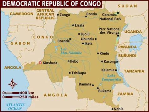 africa map democratic republic of the congo map of democratic republic of congo
