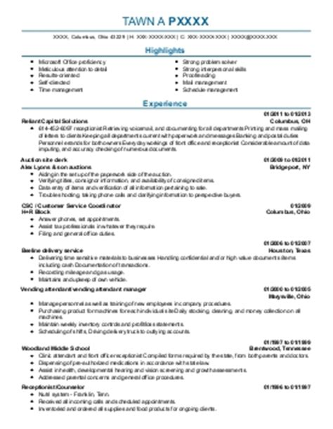 Eap Counselor Sle Resume by Impact Solutions Eap Triage Counselor Opening In Columbus Oh Livecareer