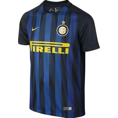 Jersey Inter Milan Home 2016 2017 nike inter milan home junior sleeve jersey 2016 2017
