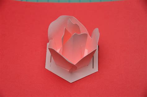 Flower Pop Up Card Template Pdf by Flower Pop Up Card Tutorial Creative Pop Up Cards