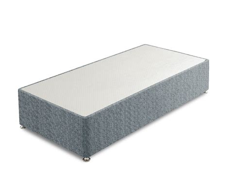 Base 1 Grey divan bed bases without storage