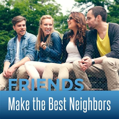 7 Ways To Make Friends With The Neighbors by Titan Court Refer A Friend