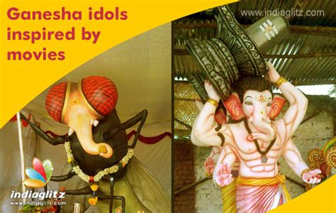 film ganesha ganesha idols inspired by movies bollywood movie news
