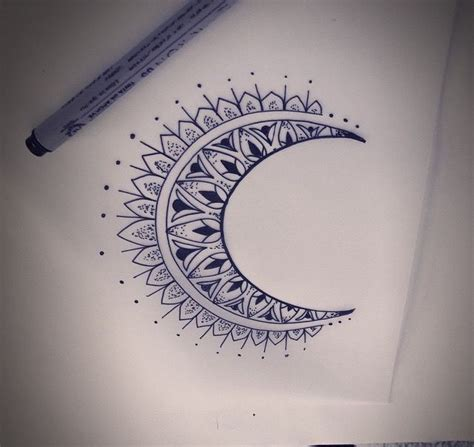 moon mandala tattoo 25 best ideas about moon mandala on moon