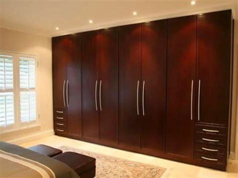 design bedroom cabinet simple traditional wardrobe brown wooden design ideas