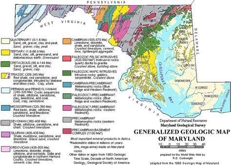 maryland map finder geologic map of maryland 1968 maps charts