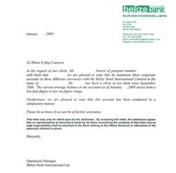 graduate student resume sample personal bank reference letter sample by belize bank