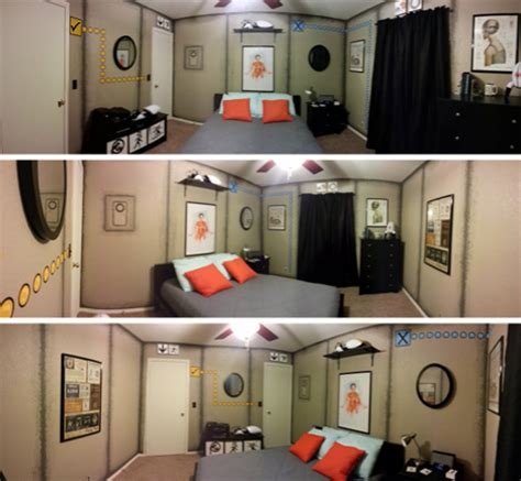 awesome portal bedroom  decorative  science