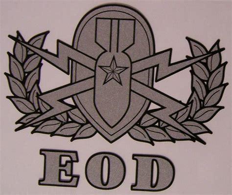Us Army Explosive Ordnance Disposal Eod Cutting Sticker window bumper sticker explosive ordnance disposal new decal ebay
