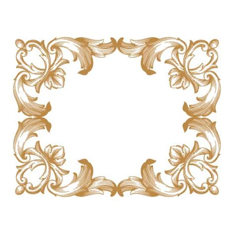free baroque design elements vector classical baroque style frame vector design 04 vector