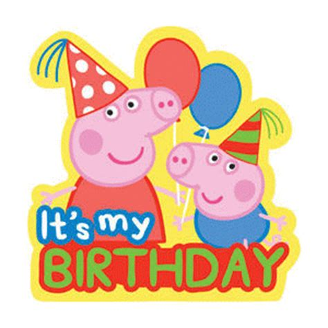 peppa pig 10 feliz 8448842650 174 im 225 genes y gifs animados 174 im 193 genes de la peppa pig