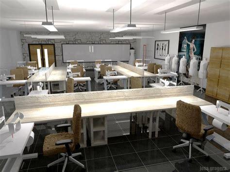 interior design schools in la interior perspective fashion school sewing lab sketchup