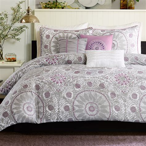 gray and purple comforter purple comforter sets purple bedroom ideas