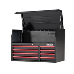 craftsman 41 6 drawer soft close rolling tool cabinet black craftsman tool storage