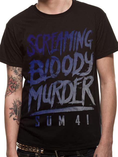 T Shirt 41 sum 41 scream t shirt tm shop