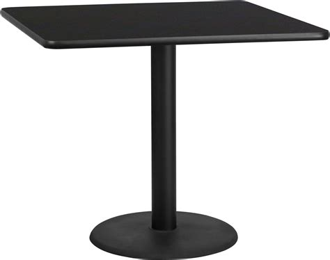 42 square table top 42 quot square black laminate table top with 24 quot table