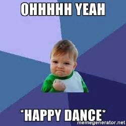 Happy Dance Meme - ohhhhh yeah happy dance success kid meme generator